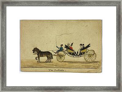 The Sociable Framed Print by British Library