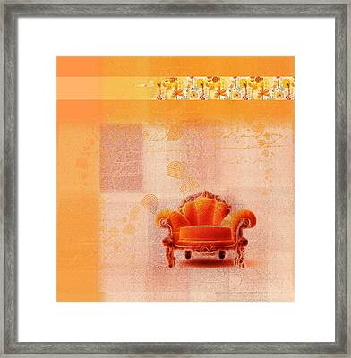 The Sofa Chair - S03bb Framed Print