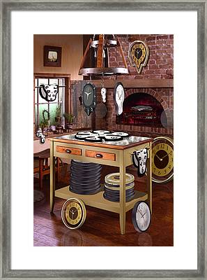 The Soft Clock Shop 2 Framed Print by Mike McGlothlen