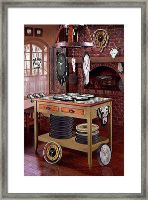 The Soft Clock Shop Framed Print by Mike McGlothlen
