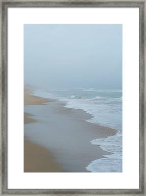 The Soft Sea Framed Print