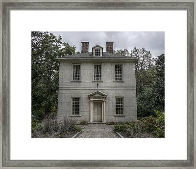 The Solitude House Framed Print by Richard Reeve