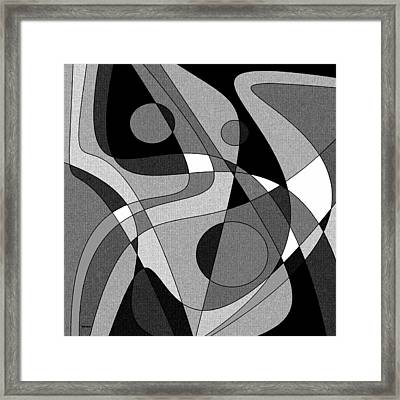 The Soloist - Black And White Framed Print