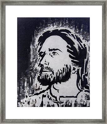 The Son Of God Framed Print by Greg Moores