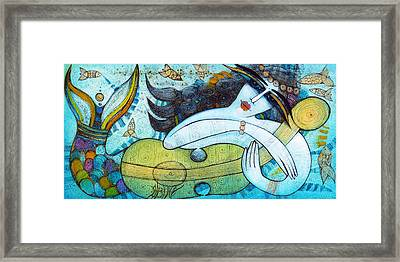 The Song Of The Mermaid Framed Print