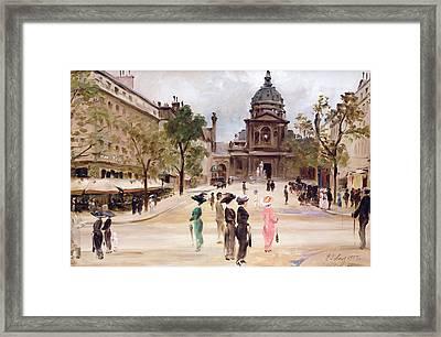 The Sorbonne Framed Print