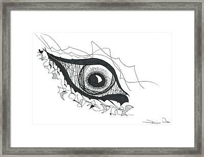 The Sorcerer's Divine Dance Of Infinite Divine Light Framed Print by Daina White