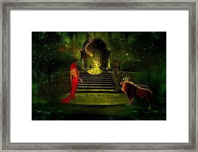 The Sorceress Framed Print by Amanda Struz