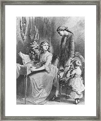 The Sorrows Of Werther Framed Print