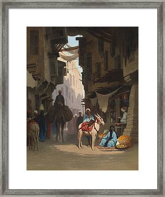 The Souk Framed Print by Celestial Images