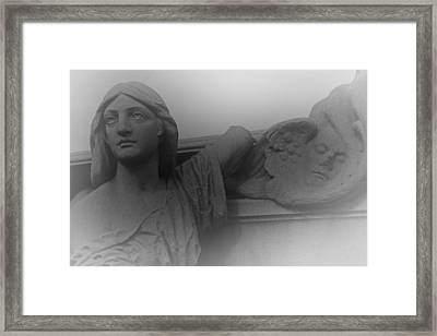 The Soul Framed Print by David Rucker