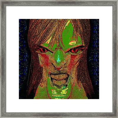 The Soul Gatherer Framed Print by Devalyn Marshall