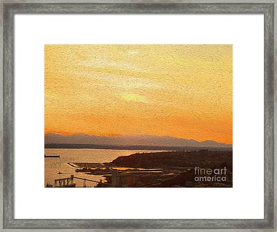 The Sound Framed Print