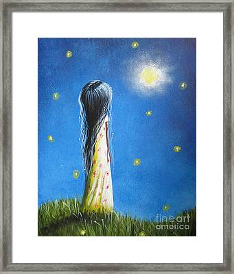 The Sound Of Light By Shawna Erback Framed Print by Shawna Erback