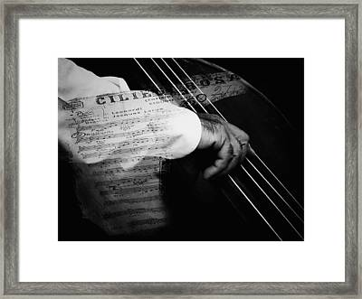 The Sound Of Memory Framed Print