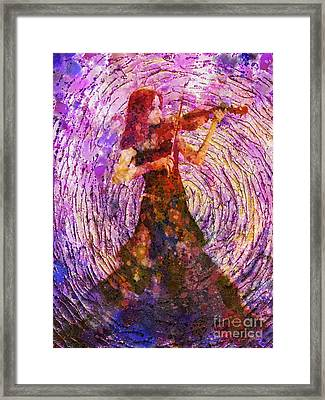 The Sound Of Music Framed Print by Mo T