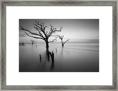 The Sound Of Silence Framed Print by Bernard Chen