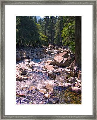 Framed Print featuring the photograph The Sound Of Silence by Dany Lison