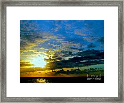The Sound Of Sky Framed Print by Q's House of Art ArtandFinePhotography