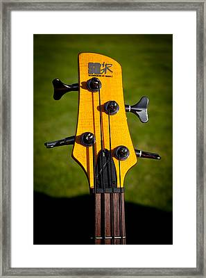 The Soundgear Guitar By Ibanez Framed Print by David Patterson