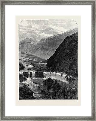 The Source Of The Jordan 1869 Framed Print by English School