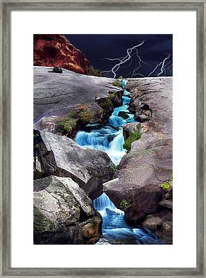 The Source Framed Print by Ric Soulen