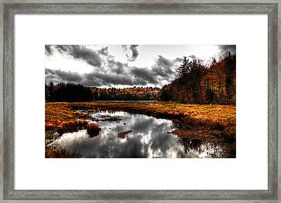 The South End Of Cary Lake Framed Print by David Patterson