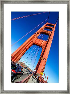 The South Tower Framed Print