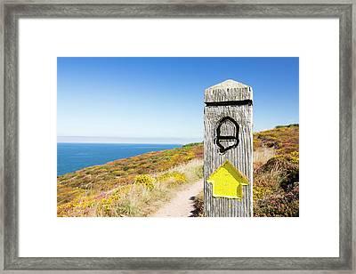 The South West Coast Path Framed Print