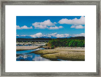 The Southern Alps Framed Print by Jon Emery