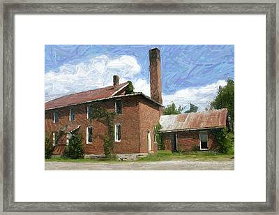 The Southern Star Rolling Mill - Perryville Ky Framed Print