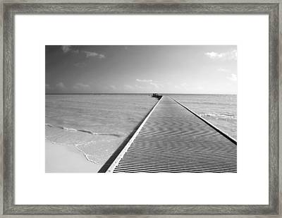The Southernmost Pier Framed Print