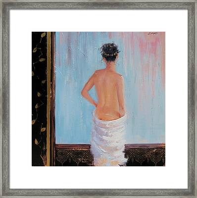 The Spa Two Framed Print