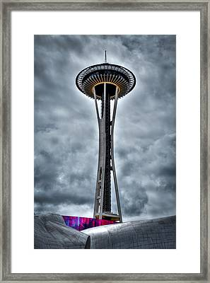 The Space Needle - Seattle Washington Framed Print by David Patterson