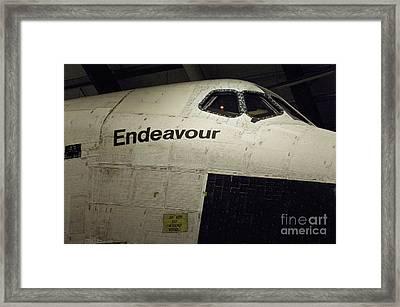 The Space Shuttle Endeavour 11 Framed Print