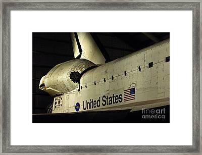 The Space Shuttle Endeavour 12 Framed Print