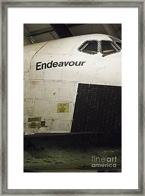 The Space Shuttle Endeavour 13 Framed Print