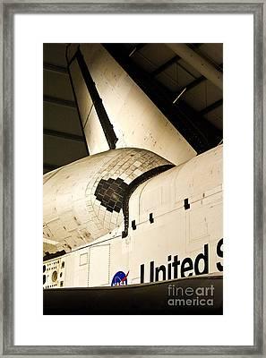The Space Shuttle Endeavour 14 Framed Print