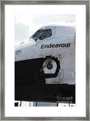 The Space Shuttle Endeavour 3 Framed Print by Micah May