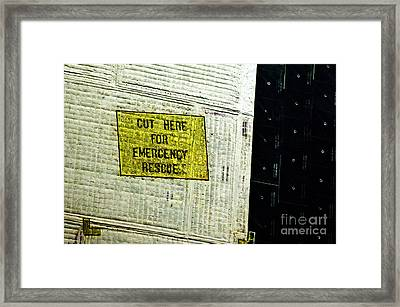 The Space Shuttle Endeavour At Its Final Destination 23 Framed Print
