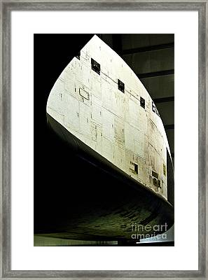 The Space Shuttle Endeavour At Its Final Destination 24 Framed Print by Micah May