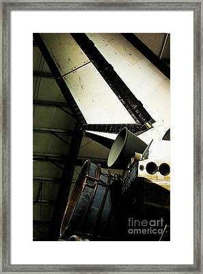 The Space Shuttle Endeavour At Its Final Destination 27 Framed Print by Micah May