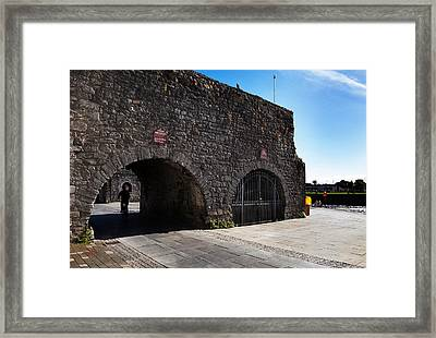 The Spanish Arch, Galway City, Ireland Framed Print