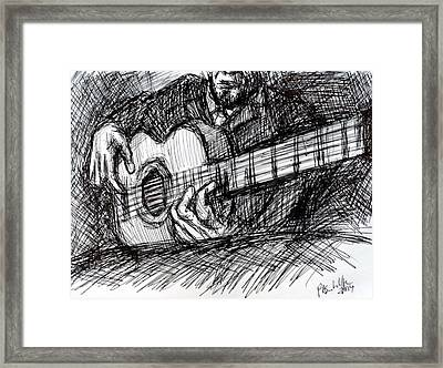 The Spanish Guitarist Framed Print by Paul Sutcliffe