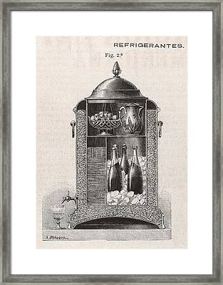 The Spanish, It Seems, Use Framed Print by Mary Evans Picture Library
