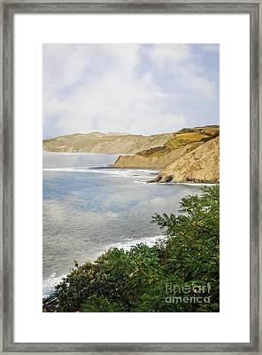 The Spanish North Coast Framed Print by Mary Machare
