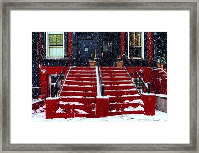 The Spanish Steps Framed Print by Chris Lord