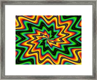 The Spark By Rafi Talby  Framed Print by Rafi Talby