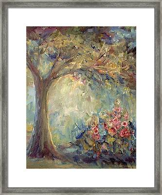 The Sparkle Of Light Framed Print