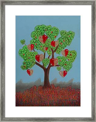 The Speaking Tree Framed Print
